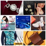 کیف و کفش ، ساعت و عینک ، پوشاک ، عطر و ادکلن ۵۰ تا۷۰ % تخفیف