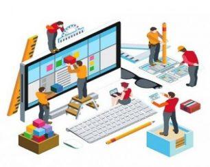 آگهی طراحی وب سایت اپ موبایل افزایش رتبه در گوگل